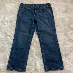Tommy Bahamas Island Crop Denim Jeans Medium Wash